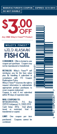 Wiley's Finest Retail Coupon