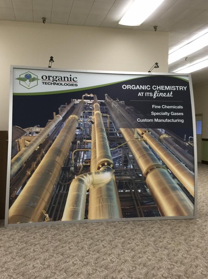 Organic Technologies Booth 2015