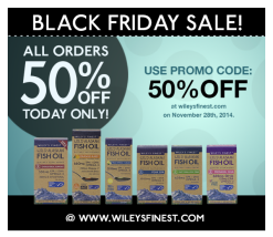 Wiley's Finest Black Friday Sale Email Blast