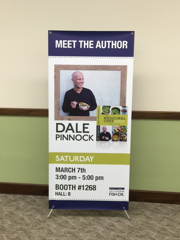 Wiley's Finest Dale Pinnock Banner for Expo West