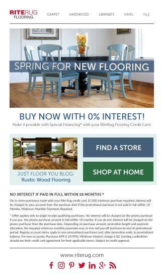 18mo. Financing Promo Email April 2017